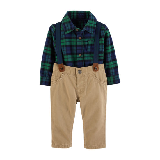 Carter's 3-Pc. Pant Set Baby Boys