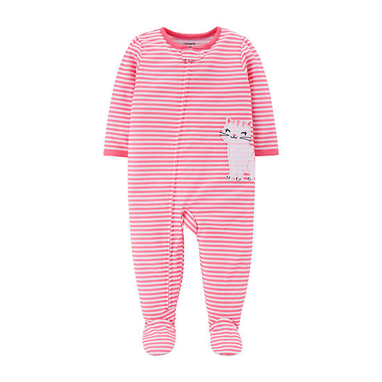 430923ad8 Carters Long Sleeve One Piece Pajama Toddler Girls JCPenney