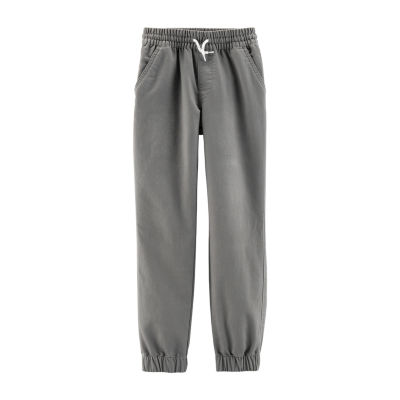 Carter's Psb Blk Knit Jogger Pants Boys