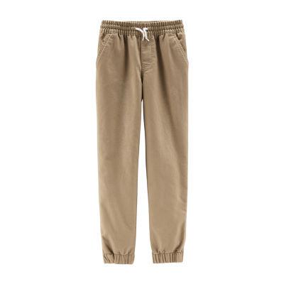 Carter's Psb Khaki Knit Jogger Pants Boys