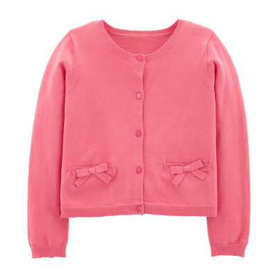 Carter's Layering Sweater-Preschool Long Sleeve Sweatshirt Girls