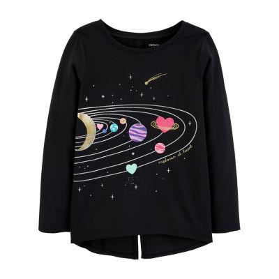 Carter's Graphic T-Shirt-Preschool Girls Graphic T-Shirt-Preschool Girls
