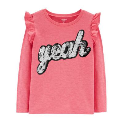 Carter's Graphic Long Sleeve T-Shirt - Preschool Girl