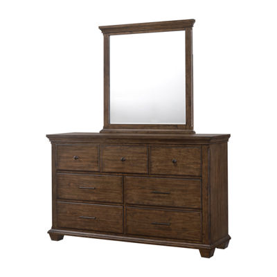 Simmons® Astoria Dresser and Mirror