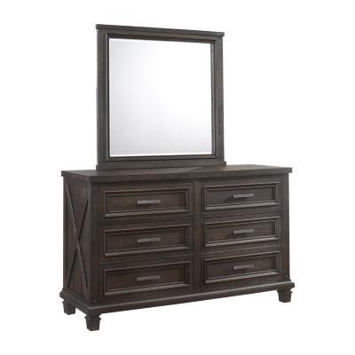 Simmons® Churchill Dresser and Mirror