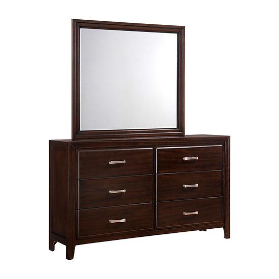 Simmons Draper Dresser And Mirror
