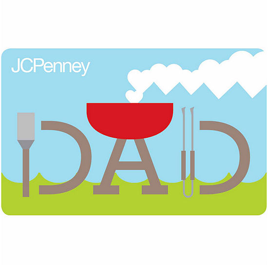Dad BBQ Gift Card