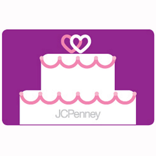 Wedding Cake Gift Card Jcpenney