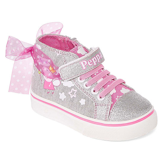 Peppa Pig Peppa Pig Toddler Girls Lace-up Sneakers