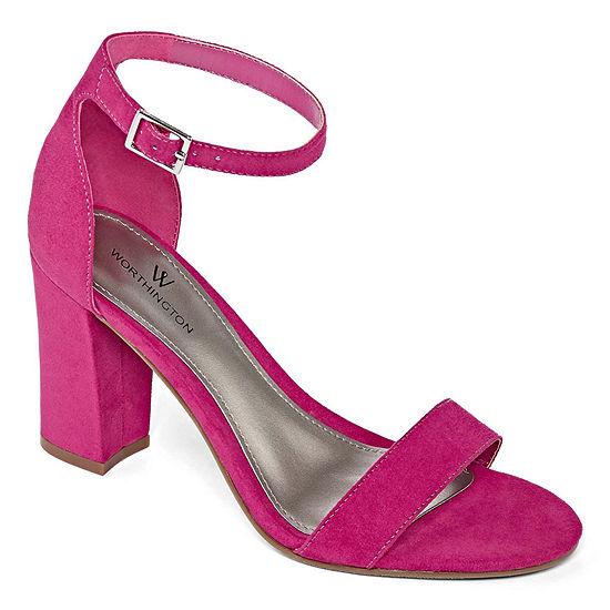 Worthington Womens Beckwith Heeled Sandals