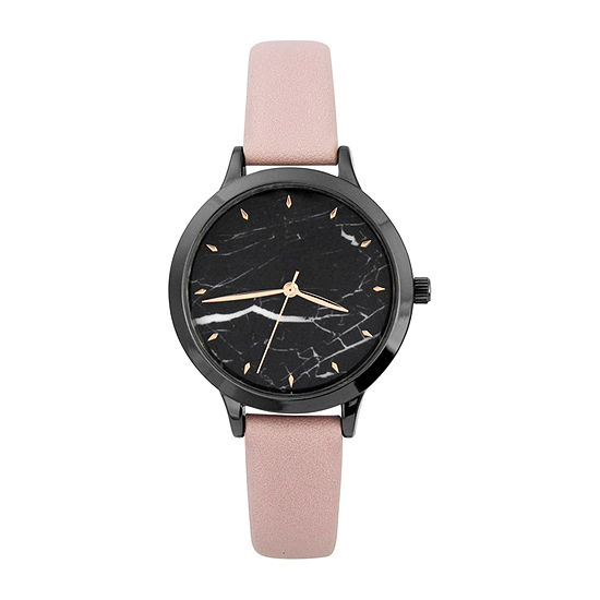 Mixit Womens Pink Strap Watch-Pt5781gnbh