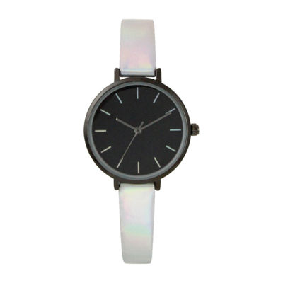 Mixit Womens Multicolor Strap Watch-Pt5632wt