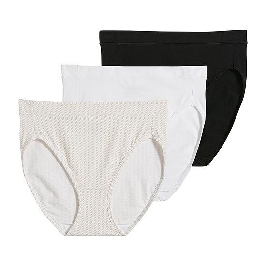 Jockey Jockey® Modern Cotton Stretch 3 Pack Knit High Cut Panty 1552