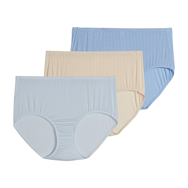 Jockey Supersoft Breathe Micromodal® 3 Pair Microfiber Brief Panty 2373