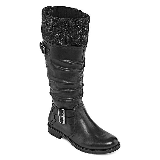 Yuu Womens Carella Zip Riding Boots
