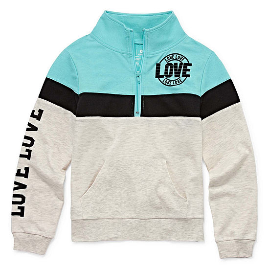 Xersion 1/4 Zip Lounge Sweatshirt - Girls' 4-16 & Plus