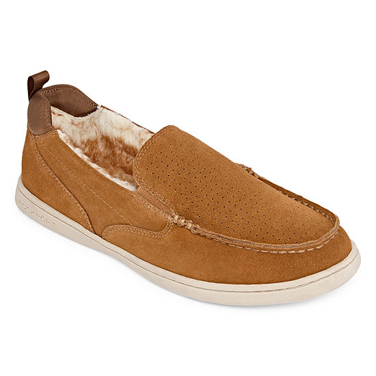 Rockport® Twin Gore Moccasin Slippers