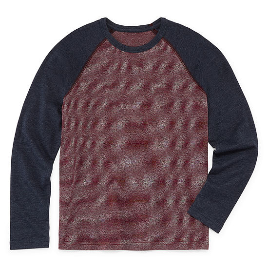 Arizona Boys Long Sleeve Henley Shirt