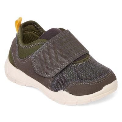 Carter's Fulton2 Boys Hook and Loop Round Toe Sneakers