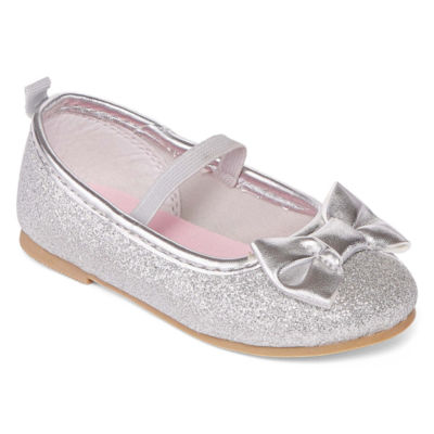 Carter's Bigbow 5 Girls Slip-On Shoes Hook and Loop Round Toe