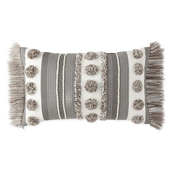 JCPenney Home Lydia Rectangular Throw Pillow