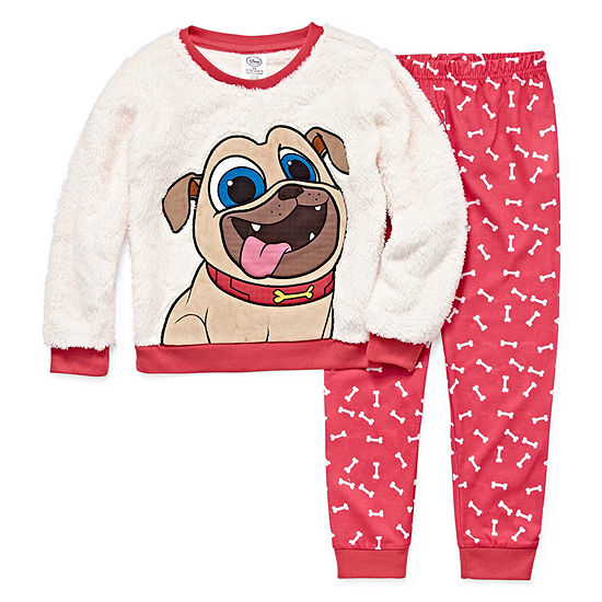 Disney 2-pc. Puppy Dog Pals Pajama Set Toddler Girls - JCPenney dbd9dc33d