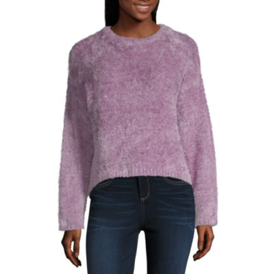 Rewind Long Sleeve Sweatshirt-Juniors