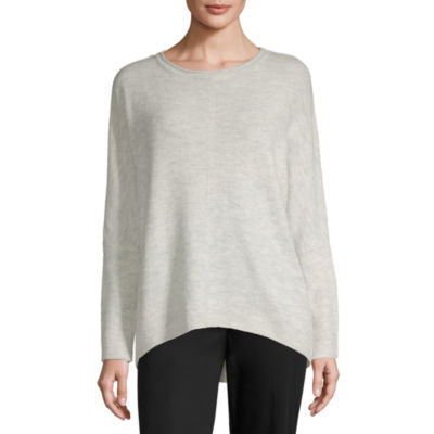Alyx Long Sleeve Boat Neck Pullover Sweater