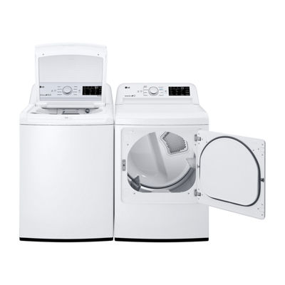 LG ENERGY STAR® 7.3 cu. ft. Electric Dryer with Sensor Dry Technology