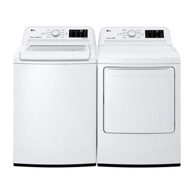 LG ENERGY STAR® 7.3 cu. ft. Gas Dryer with Sensor Dry Technology