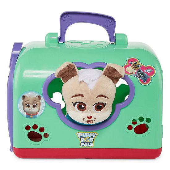 Disney Puppy Dog Pals Keia 8 Pc Plush Play Sets