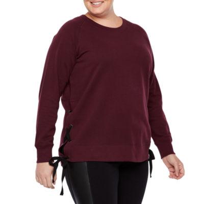 Xersion Side Tie Sweatshirt – Plus