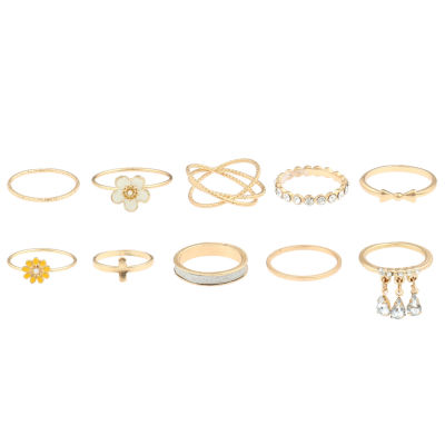 Decree Womens Cluster Ring