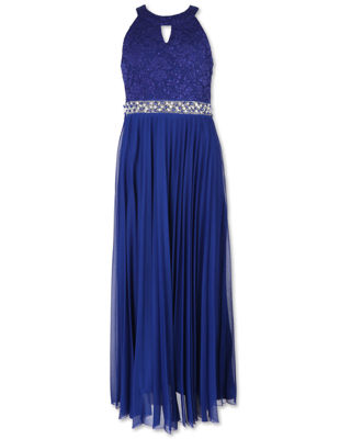 Speechless Embellished Sleeveless Maxi Dress - Big Kid Girls
