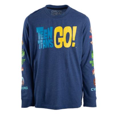 Teen Titans Long Sleeve T-Shirt Boys
