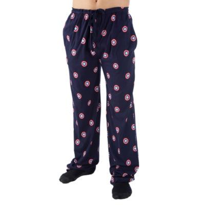 Captain America Mens Jersey Pajama Pants