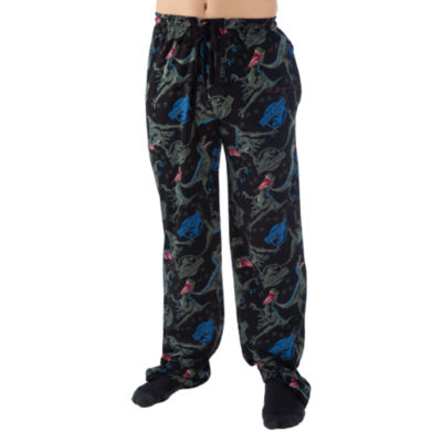 Jurassic World Mens Jersey Pajama Pants