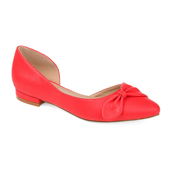 Journee Collection Womens Abigail Ballet Flats Round Toe