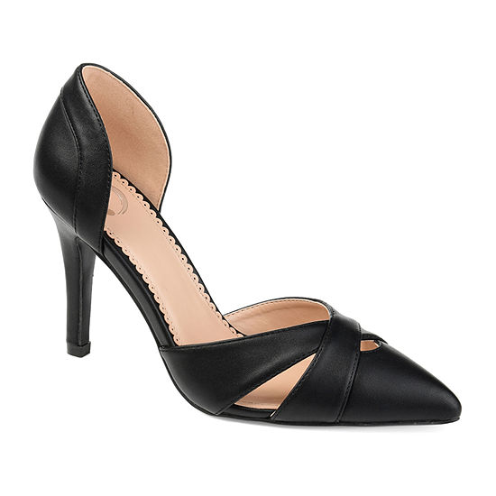 Journee Collection Womens Pointed Toe Dora Pumps