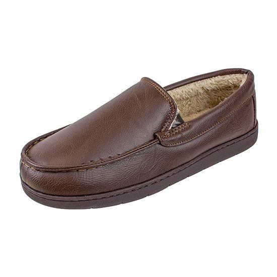 Stafford® Faux Leather Venetian Slipper
