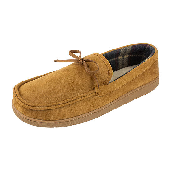 Stafford® Boater Moccasin Slippers