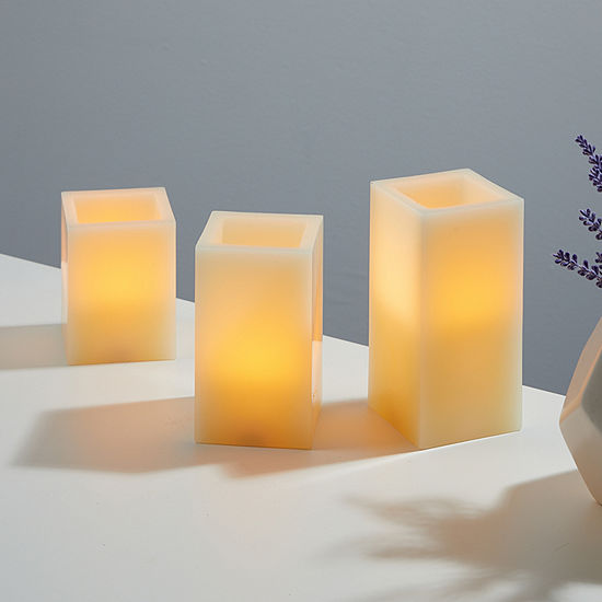 Merkury Innovations Led 3-pc. Flameless Candles