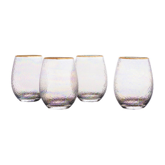 Style Setter 4-pc. Stemless Wine Glass
