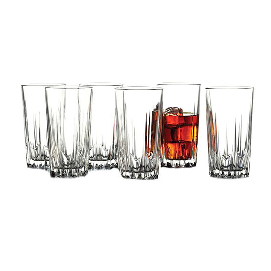 Fifth Avenue 6-pc. Highball Glasses