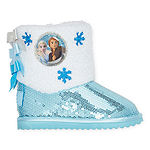 Disney Collection Toddler Girls Frozen 2 Flat Heel Insulated Winter Boots