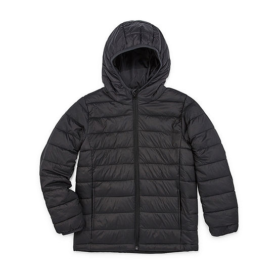 Xersion Big Boys Husky Lightweight Puffer Jacket