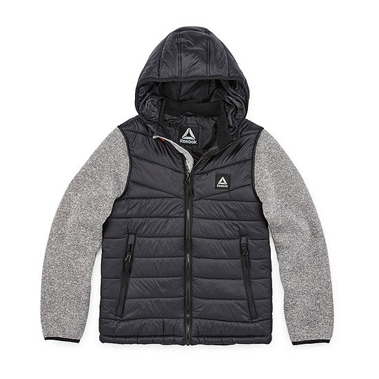 Reebok Puffer Vest With Sleeves Boys Puffer Vest Toddler