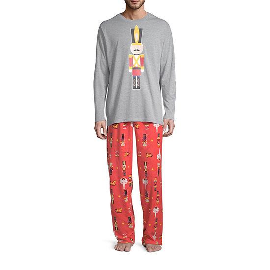 Secret Santa The Nutcracker Family 2 Piece Pajama Set -Men's