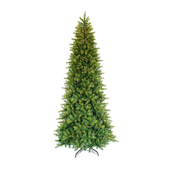 Puleo International 6 Foot Fir Pre-Lit Christmas Tree