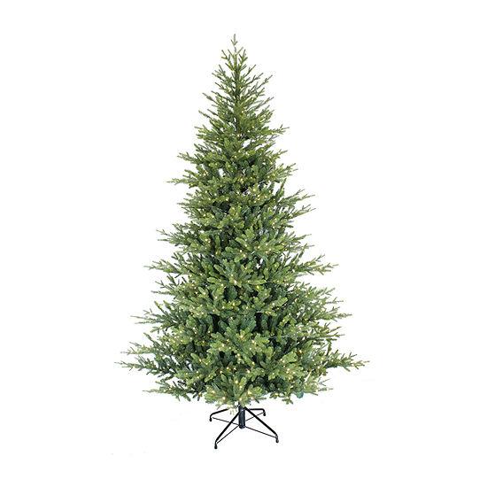 Puleo International 9 Foot Spruce Pre-Lit Christmas Tree